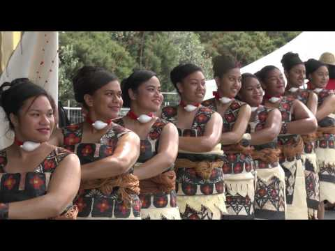 James Cook High School Tau'olunga.ASB Polyfest 2017.Tongan Stage.