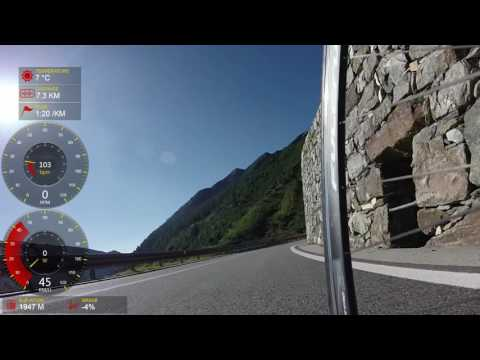 Col Grand Saint Bernard descending the Italian Side 2016 08 11