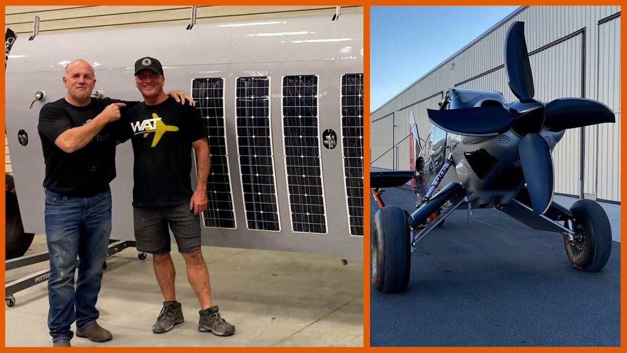 Solar Panel Wings on Custom Search and Rescue Bush Plane | Scrappy #59