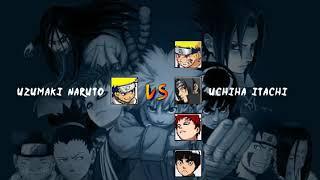Hokage Naruto Vs Adult Sasuke Bleach Vs Naruto 3 3 Modded