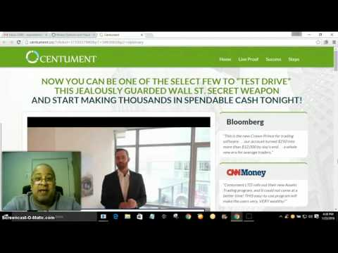 Centument Review - WARNING! Watch before using Centument.. Live Proof: Centument Review - http://thefranchise.info Centument Review - http://thefranchise.info  Chris Pires:  401-372-7143  Centument Review is a Binary options Trading Software.    Binary Options Trading is a Legit Way To Make Money Online, But it's Not Legit Using a Robot Software To do the Trading.   WATCH THIS VIDEO FIRST    Friend me on Facebook https://www.facebook.com/chris.pires.756  Check out My Blog Site http://www.infinitysuccess.info  Add Me on Skype Chris.pires2013