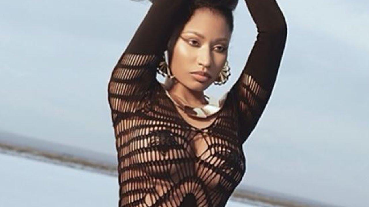 Nicki Minaj Thanks to The Nipple Covers - Youtube-3065