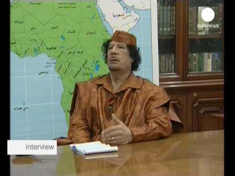 interview - Mouammar Kadhafi