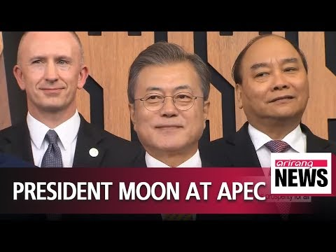 President Moon to hold talks with China's Xi on sidelines of APEC summit
