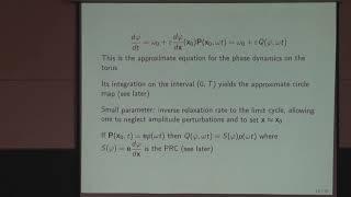 Аркадий Пиковский - Обратные задачи для связанных осцилляторов