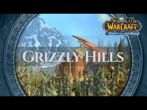 Grizzly Hills - Music & Ambience (1 hour, 4K, World of Warcraft Wrath of the Lich King)