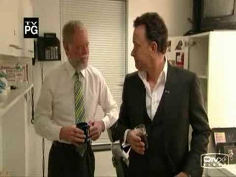 Tom Hanks trashtalks David Letterman
