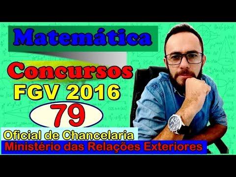 FGV 2016 - Q. 79 - Ministério da Relações Exteriores - Oficial de Chancelaria (Raciocínio lógico)