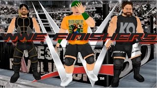 WWE FINISHERS IN WRESTLING REVOLUTION 3D