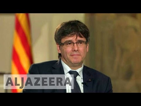 Talk to Al Jazeera - Puigdemont: What goes for Scotland, goes for Catalonia