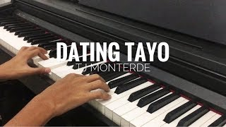 DATING TAYO - TJ Monterde (KARAOKE VERSION)