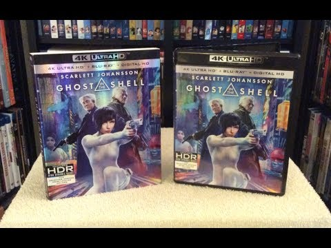 Ghost In The Shell 4k Blu Ray Unboxing Review Youtube