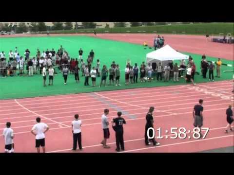 Julian Baker ISC 800m Race - 1:59.08 Record