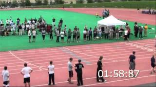 Julian Baker ISC 800m Race - 1:59.08 Record