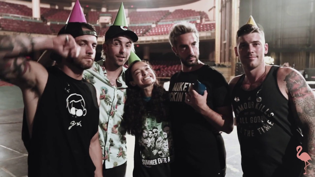 All Time Low Last Young Renegade Listening Party