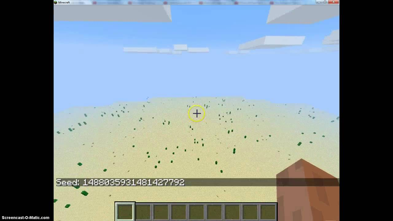 Freaky Minecraft Seed Spotlight Superflat Youtube