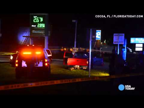 Trooper shot at Fla. gas station returns fire, kills gunman