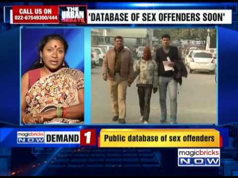 Online database on sex offenders to go public soon - The Urban Debate (24th January)