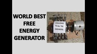 Free Energy Generator By wasif Kahloon Magnet Energy Explained the Overall Ideas of Magnet Generator