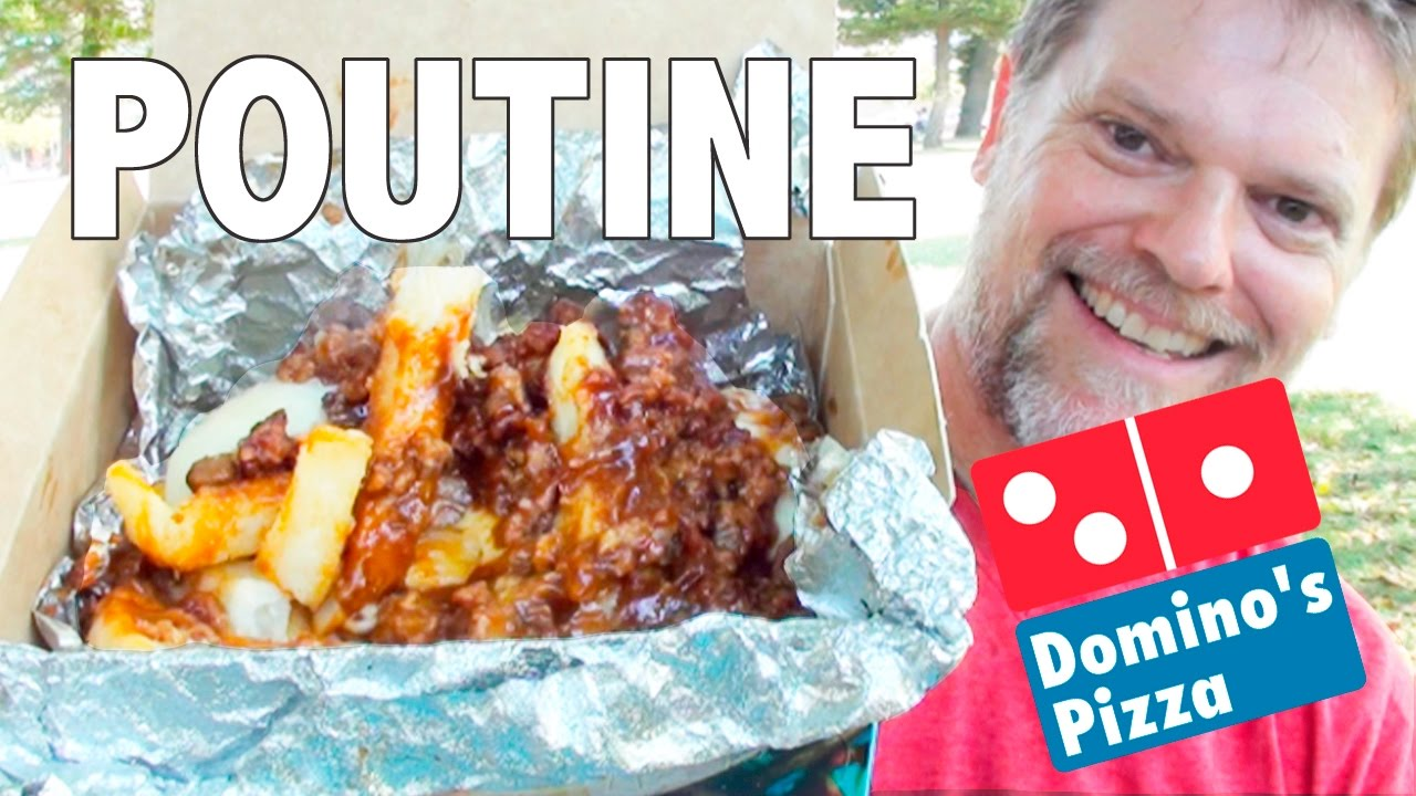 Dominos Kitchen new domino's poutine food review - fast food friday - greg's