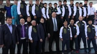 Николай Валуев встретился с боксерами сборной Казахстана