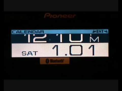 Pioneer DEH-8400BT From www.caraudioni.com