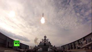 Самые зрелищные кадры учений Балтийского флота
