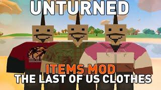 The Last Of Us Joel & Ellie Clothes - Unturned 3.12.3.0