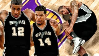 ALDRIDGE CARRIED OFF COURT AFTER INJURY! NBA 2K17 My Career Gameplay Ep. 52