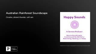 Nature Sounds: Australian Rainforest Soundscape
