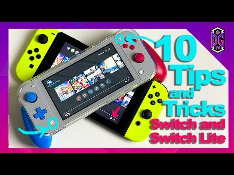 10 conseils Nintendo Switch (et Switch Lite) pour les nouveaux propriétaires