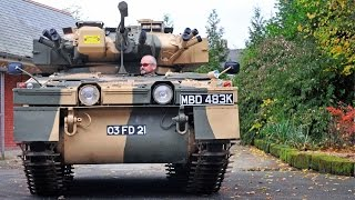 RIDE: Alvis Sabre Tank on the road