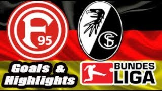 Dusseldorf vs Freiburg - 2018-19 Bundesliga Highlights #15
