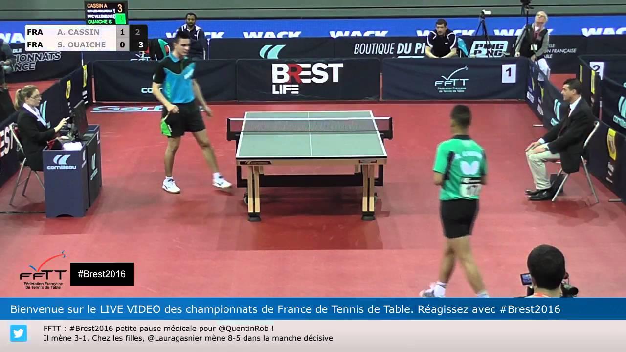 Alexandre Cassin Stephane Ouaiche Championnat De France Tennis De