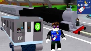 Johny Plays Roblox MTA Subway Train Game & Can You Surivive A Train Ride Through A Blackhole
