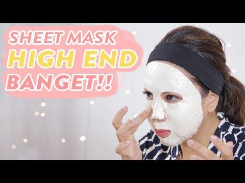 Nyobain Sheet Mask Harga 1,5 Juta! | Skincare 101