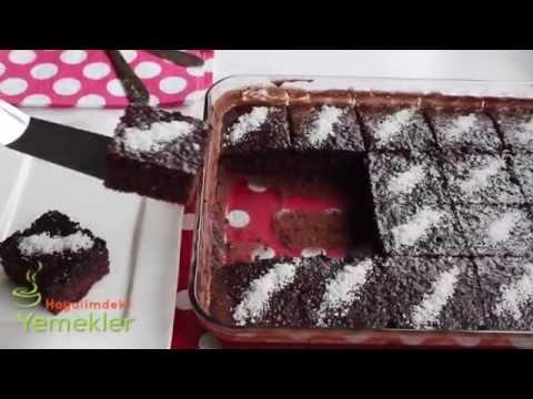 islak kek  browni  tarifi