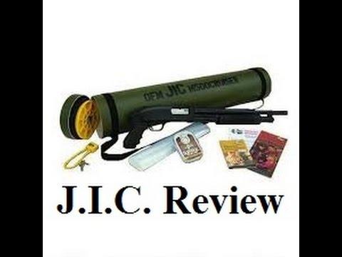 Mossberg 500 J.I.C. Review Shotgun Table Top Range Mods Raptor Grip