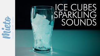 ASMR. Ice Cubes in Hot Water and Sparkling Sounds. No Talking