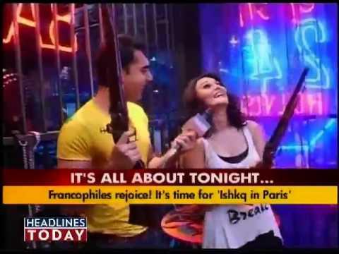 Preity Zinta shoots for Ishkq In Paris