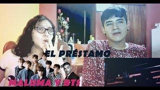 Maluma - El Préstamo video reacción + MALUMA Y BTS JUNTOS !!