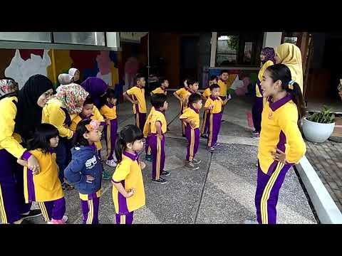 Lirik SENAM SEHAT GEMBIRA untuk paud taman kanak-kanak kelompok bermain Playgroup Cerdas Cendekia
