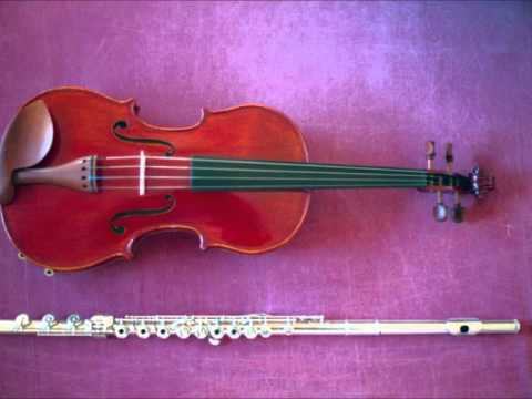 Ernest Bloch - Concertino for flute, viola and strings