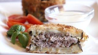 Жареные баклажаны с мясной начинкой - Рецепт Бабушки Эммы