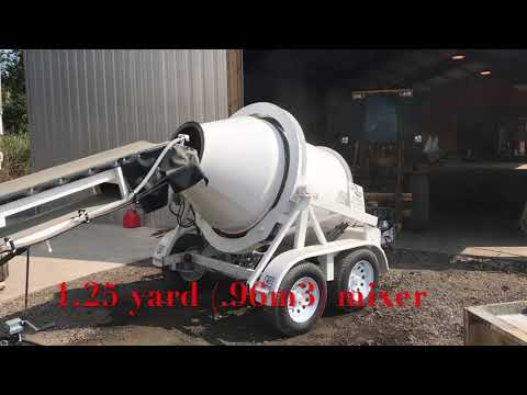 Portable Concrete Batch Plant/2CL-8-2 - Right Manufacturing Systems