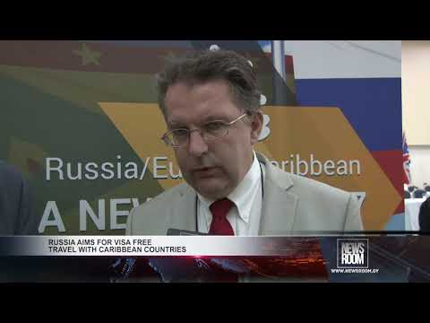 RUSSIA AIMS FOR VISA FREE TRAVEL WITH CARIBBEAN COUNTRIES