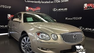 Used 2009 Gold Buick Allure CXL Walkaround Review | Bowdon Alberta