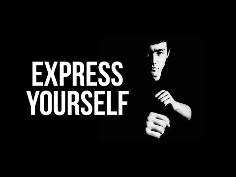 Express Yourself | Bruce Lee Motivational Video [HD]