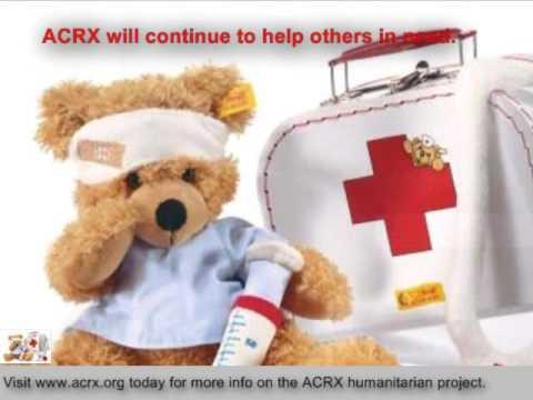 Free Medicine Help Donated to University Child Development Center by Charles Myrick of ACRX