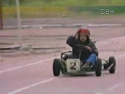 Мотогонки и картинг в Нерюнгри, Якутия, август 1991